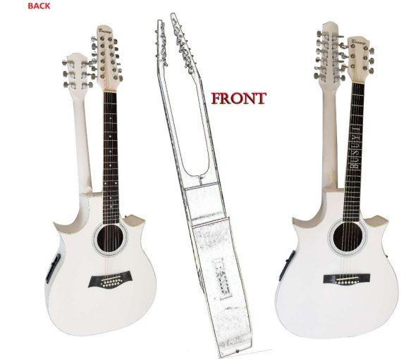 126 acoustic white